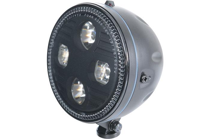 Highsider ハイサイダー ヘッドライト本体・ライトリム/ケース アトランタ LEDヘッドライト タイプ:ボトムマウント