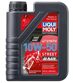 LIQUI MOLY リキモリ 4サイクルオイル ストリートレース 4T Synth 10W-50 Street Race