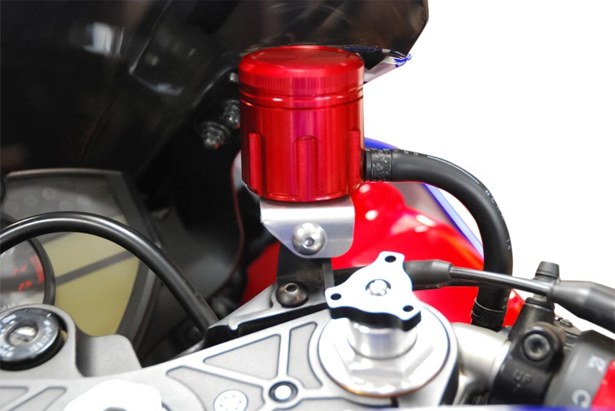 POWERSTANDS RACING パワースタンズレーシング その他ブレーキパーツ BRAKE RESERVOIR CUP RED [1731-0388] CBR1000RR 2006 - 2015 CBR600RR 2007 - 2015