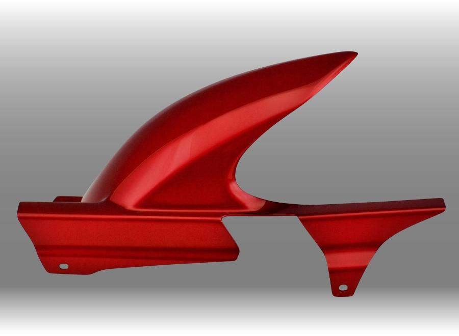 Force-Design フォルスデザイン リアフェンダー インナーフェンダー カラー:キャンディープロミネンスレッド タイプ:スリット無 CB400SF Revo (NC42) 2007-