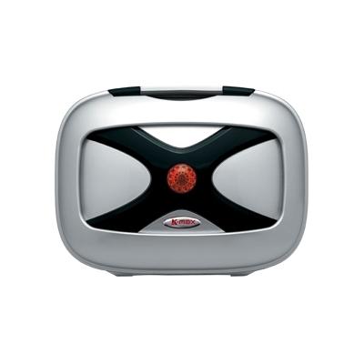 K-MAX ケーマックス トップケース・テールボックス K18 12L リアボックス ワーニングランプなし カラー:シルバー