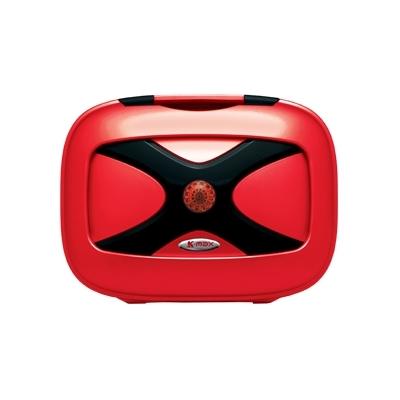 K-MAX ケーマックス トップケース・テールボックス K18 12L リアボックス ワーニングランプなし カラー:レッド