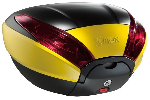 K-MAX ケーマックス トップケース・テールボックス K20 40L リアボックス ワーニングランプなし カラー:イエロー