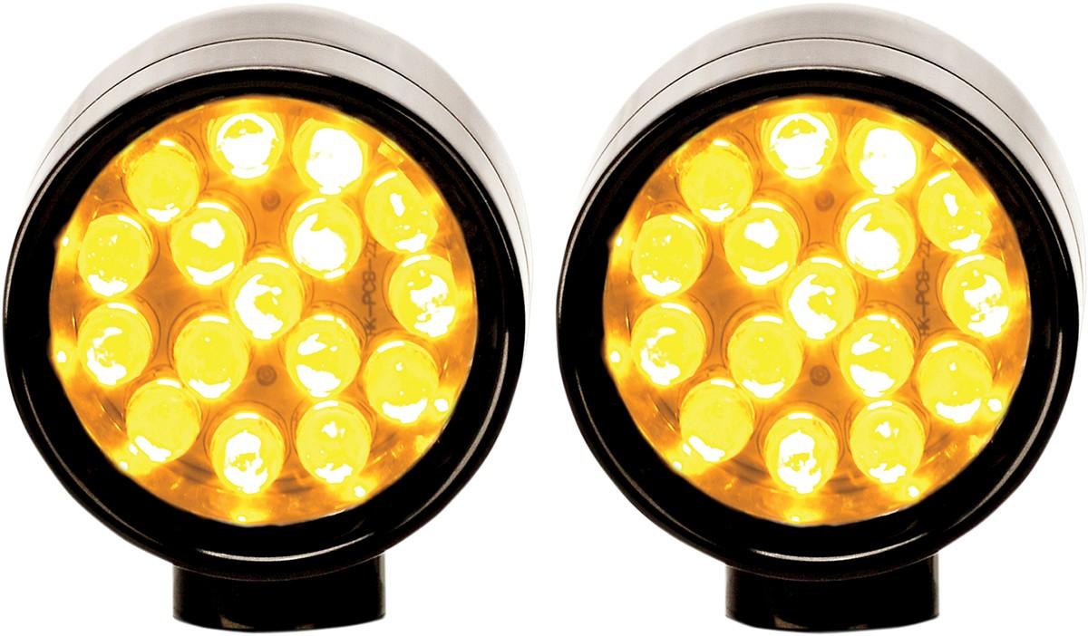 LAZER STAR レイザースター その他灯火類 マーカーライトXS ウィンカー アンバー ブラック 【LIGHT XS T/S AMBR BLK [2040-1075]】