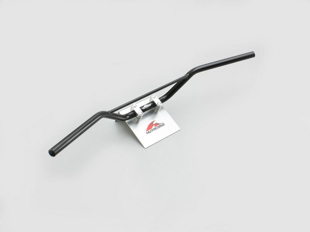 【イベント開催中!】 HURRICANE ハリケーン ハンドルキット トラッカースペシャル ブリッジ付 ハンドルセット カラー:ブラック CB400SF VTEC Revo(14-16 ABS車)
