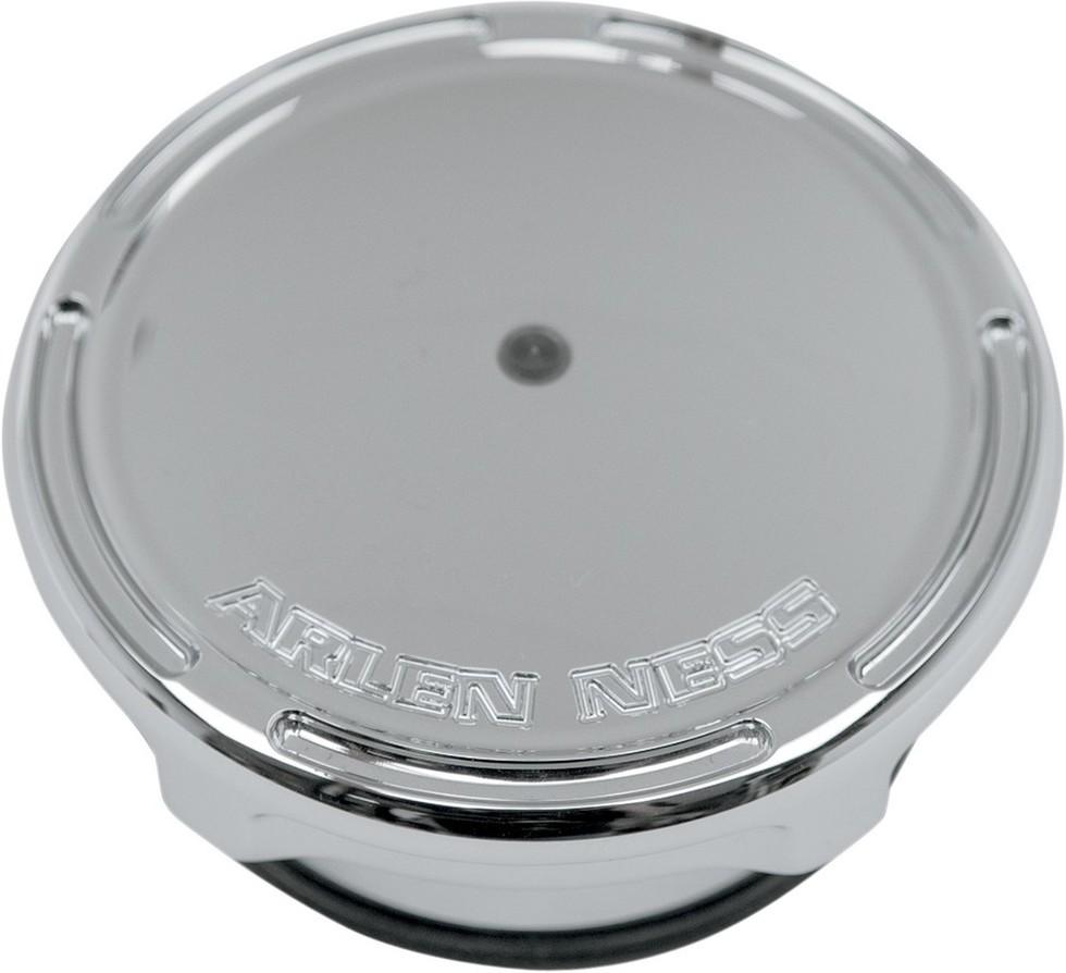 ARLEN NESS アレンネス タンクキャップ フューエルゲージキャップ スロット【CAP GAS/GAUGE SLOT】 COLOR:Natural (FINISH:Chrome) [0703-0586]