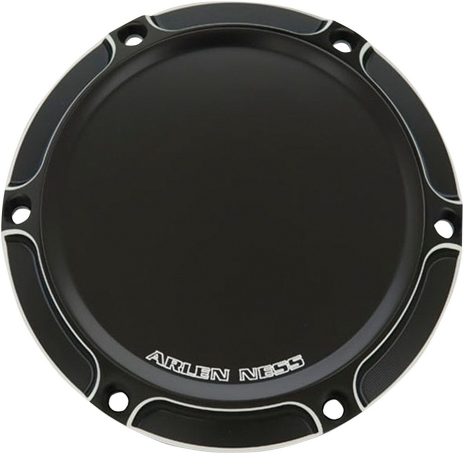 ARLEN NESS アレンネス その他外装関連パーツ ダービーカバーBEVELLED TC【COVER DERBY BVLD TC】 COLOR:Black (FINISH:Anodized) [1107-0349]