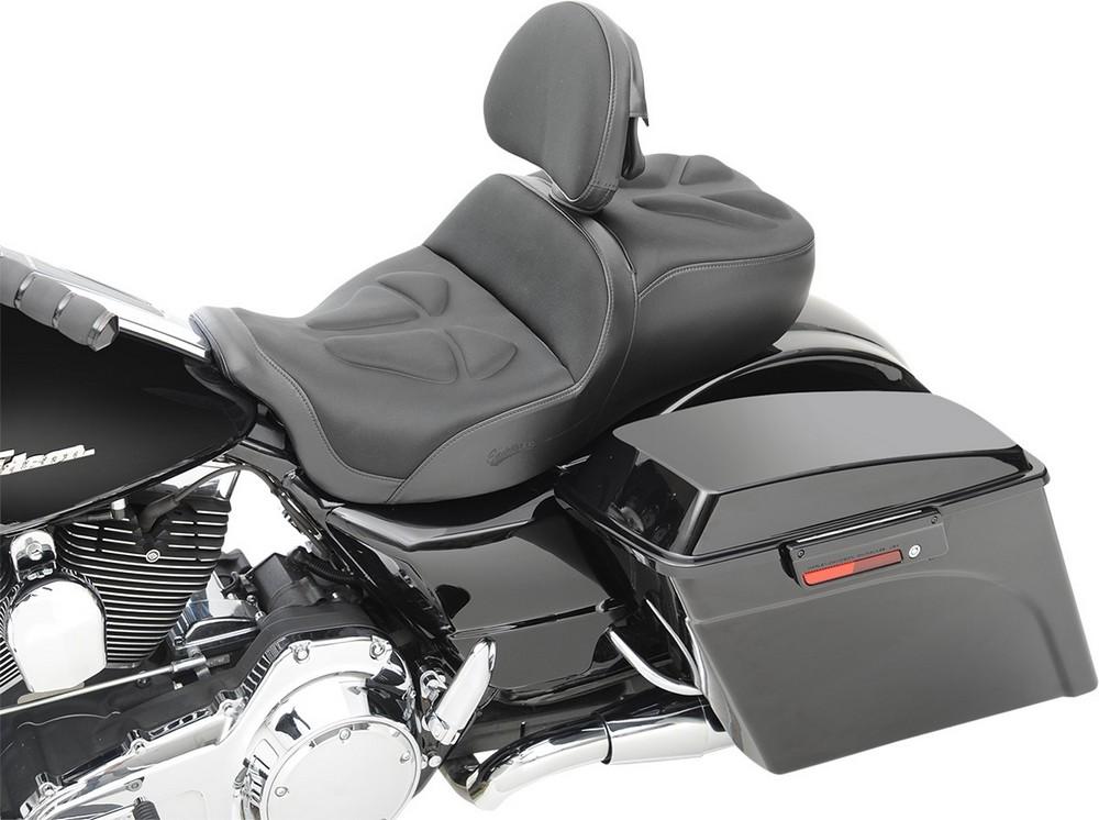 SADDLEMEN サドルメン シート本体 シート EXPLORER G-TECHモデル W/BR FLH用 【SEAT GTEC EXPL W/BR FLH [0801-0820]】