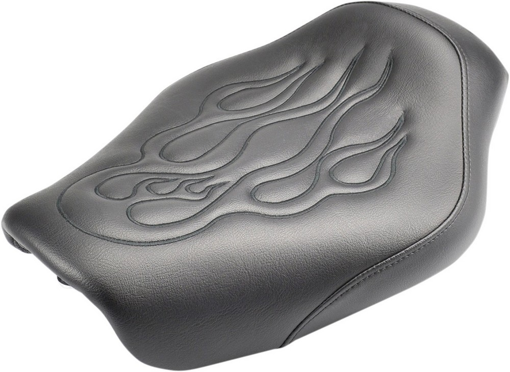 SADDLEMEN サドルメン シート本体 SEAT TATTOO FLM BLK [0803-0525]