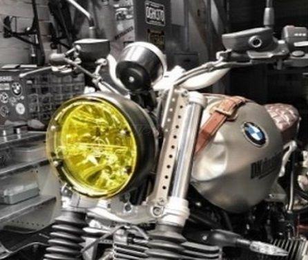 DK design ディーケーデザイン その他外装関連パーツ ヘッドライトカバー カラー:Yellow Transparent RnineT
