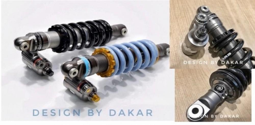 DK design ディーケーデザイン リアサスペンション GEARS RACING リアショック カラー:ブラック RnineT
