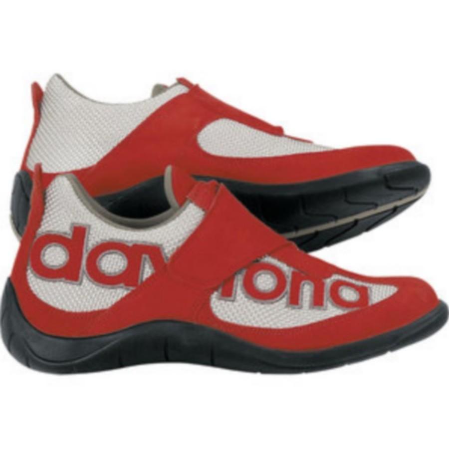 Daytona Boots デイトナブーツ シューズ DAYTONA MOTO FUN RED/SILVER サイズ:36