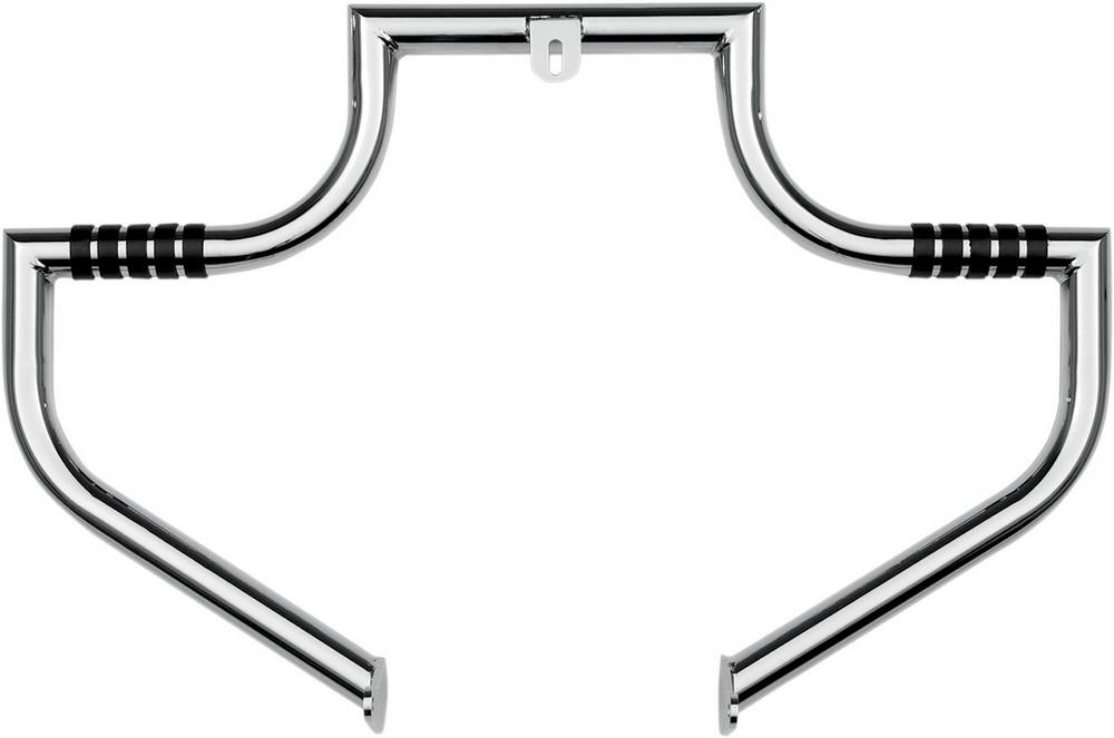LINDBY リンビー ガード・スライダー ハイウェイバー MAGNUMBARモデル クローム 97-17 FLHT用【MAGNUMBAR 97-17 FLHT CHR [0505-1282]】