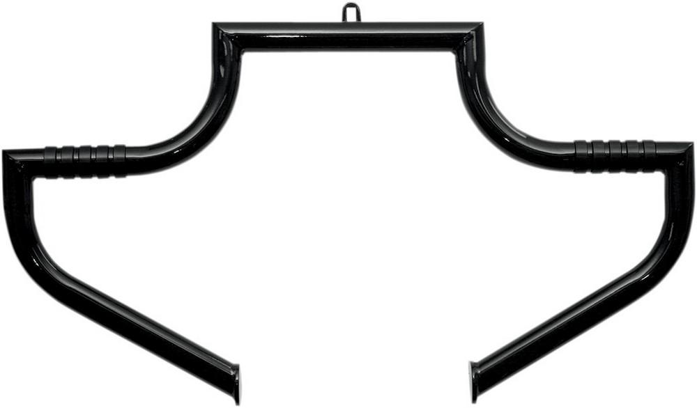 LINDBY リンビー ガード・スライダー ハイウェイバー MAGNUMBARモデル ブラック 97-17 FLHT用【MAGNUMBAR 97-17 FLHT BLK [0505-1288]】