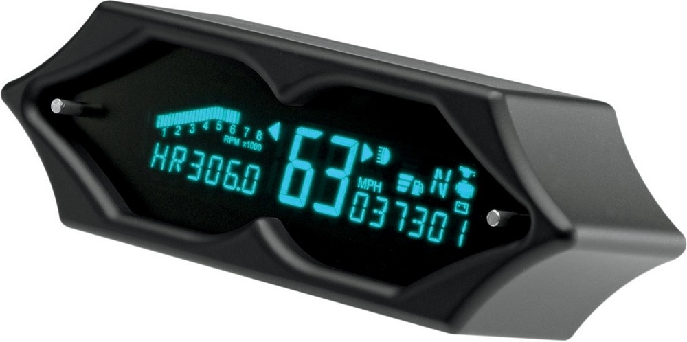 DAKOTA DIGITAL ダコタデジタル スピードメーター/タコメーター SPIKE ブラック 【SPEEDO/TACH SPIKE BLACK [2210-0195]】