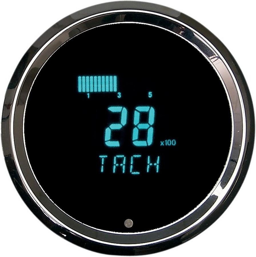 DAKOTA DIGITAL ダコタデジタル 電気式 タコメーター 3-3 8 【GAUGE ELECT TACH 3-3/8 [2211-0027]】