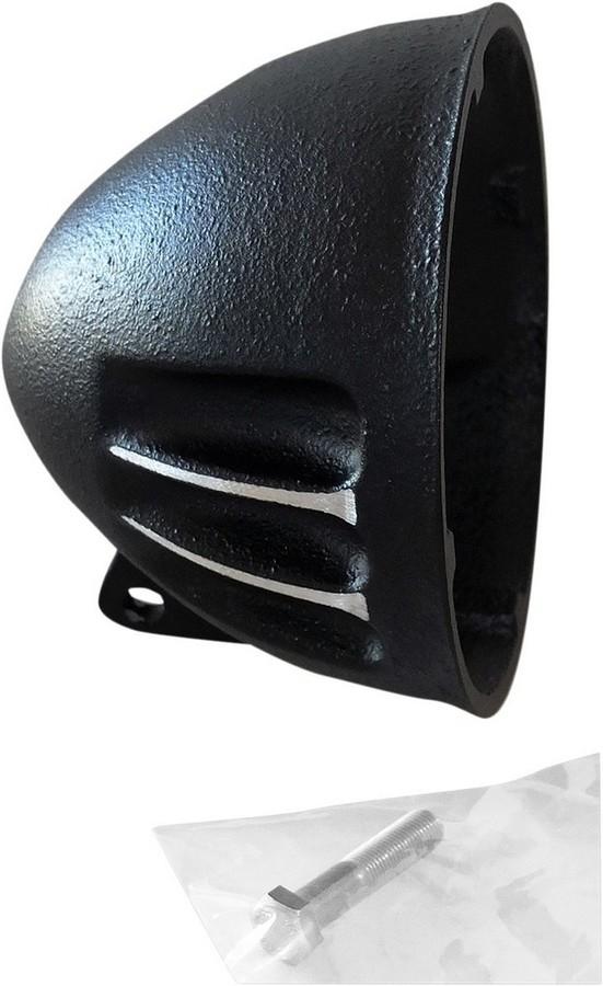 EMD イーエムデー ヘッドライト本体・ライトリム/ケース ヘッドライトシェル A ブラック カット【H/LAMP SHELL A BLACK CUT [2001-1392]】