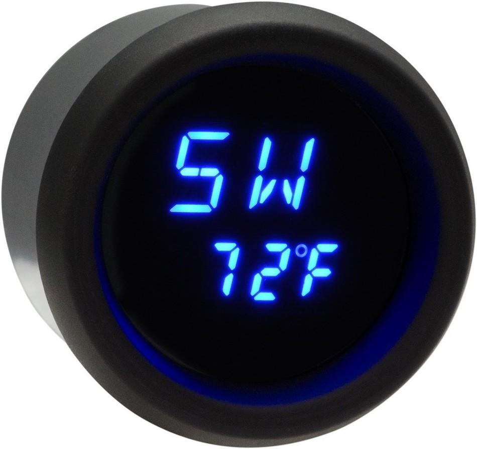 DAKOTA DIGITAL ダコタデジタル その他電装パーツ メーターキット GPS ブルー/ブラック 【GAUGE GPS BLUE/BLK [2212-0538]】