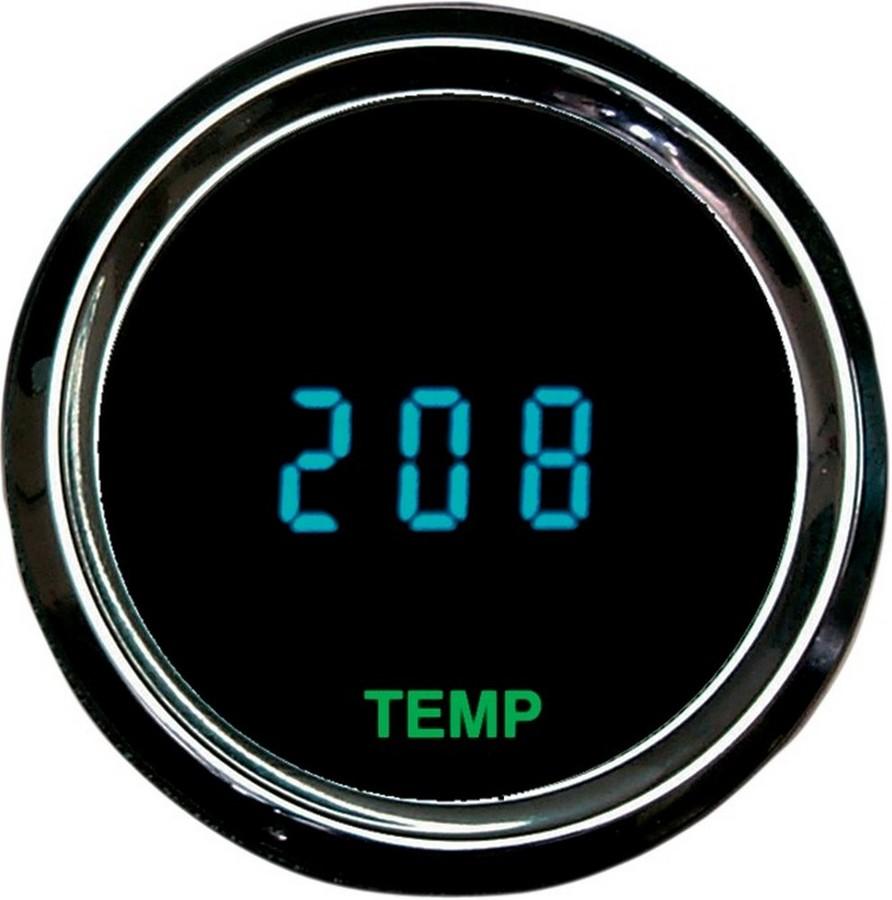 DAKOTA DIGITAL ダコタデジタル 電気・電圧計 オイル温度ゲージ 2 1/16 【OIL TEMP GAUGE 2 1/16 [DS-250029]】