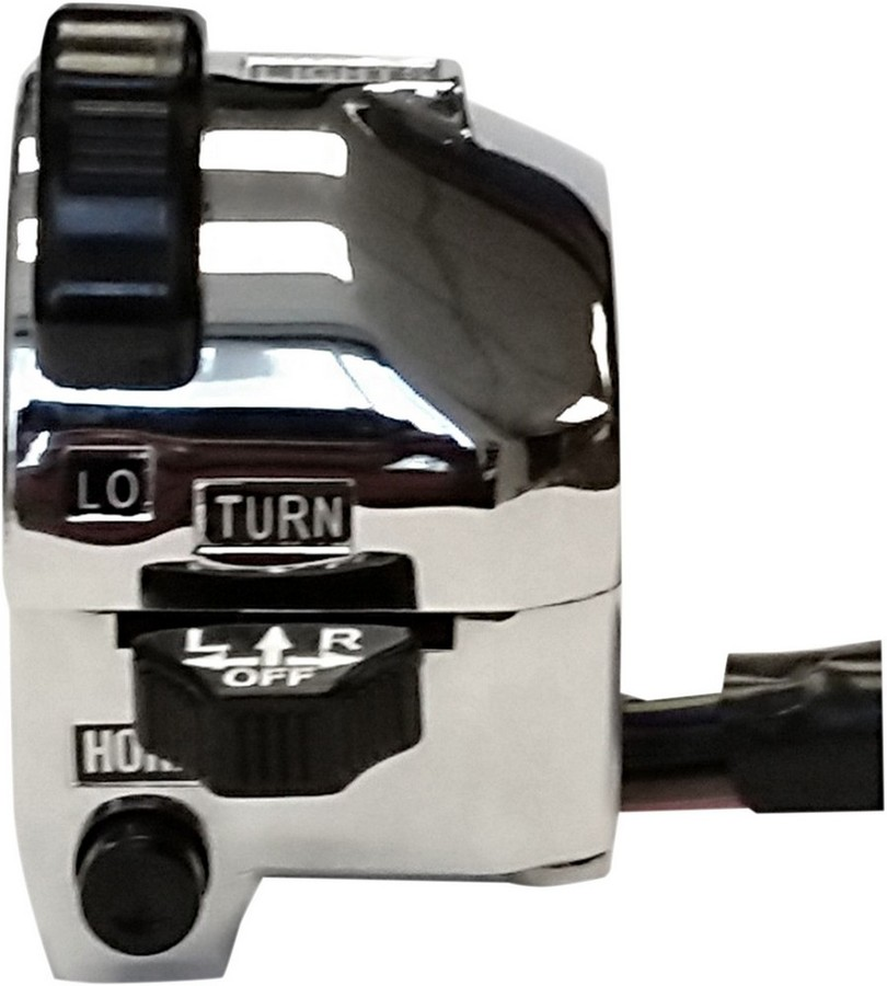 K&S TECHNOLOGIES ケイアンドエステクノロジーズ ハンドルスイッチ ウインカースイッチ DOT LH-CHR用【TURNSIG SWITCH DOT LH-CHR [2107-0224]】