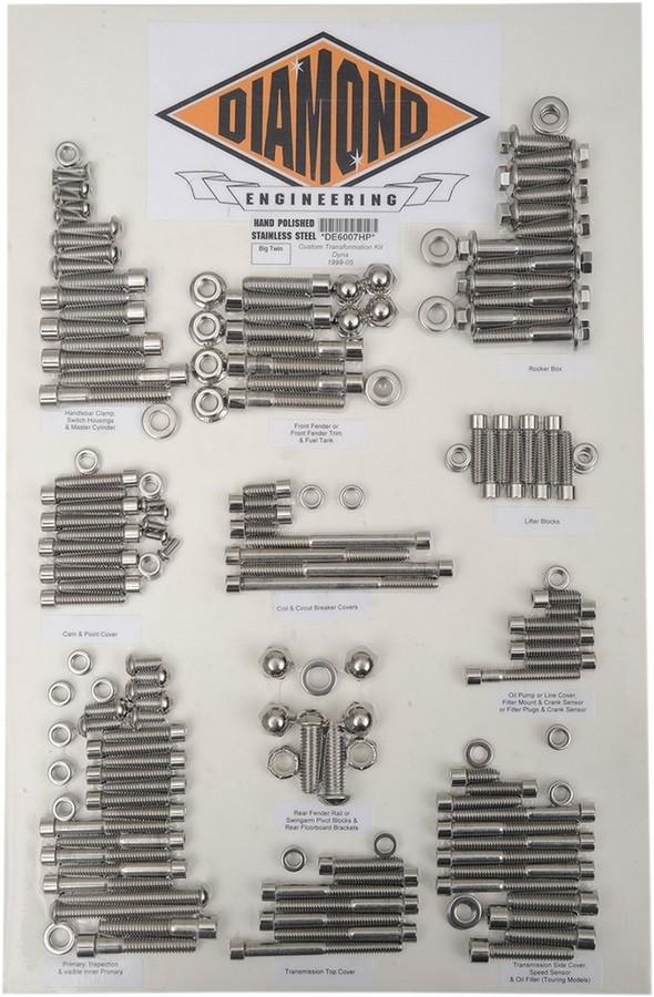 DIAMOND ENGINEERING ダイアモンドエンジニアリング その他外装関連パーツ ボルトキットトランスミッションフィラー OE99-05DY 【BOLT KIT TRANSF OE99-05DY [2401-0844]】