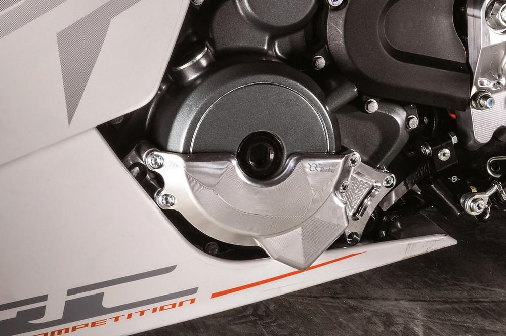 Bonamici Racing ボナミーチレーシング エンジンカバー COVER PROTECTIONS タイプ:left side RC 250/390 14-17