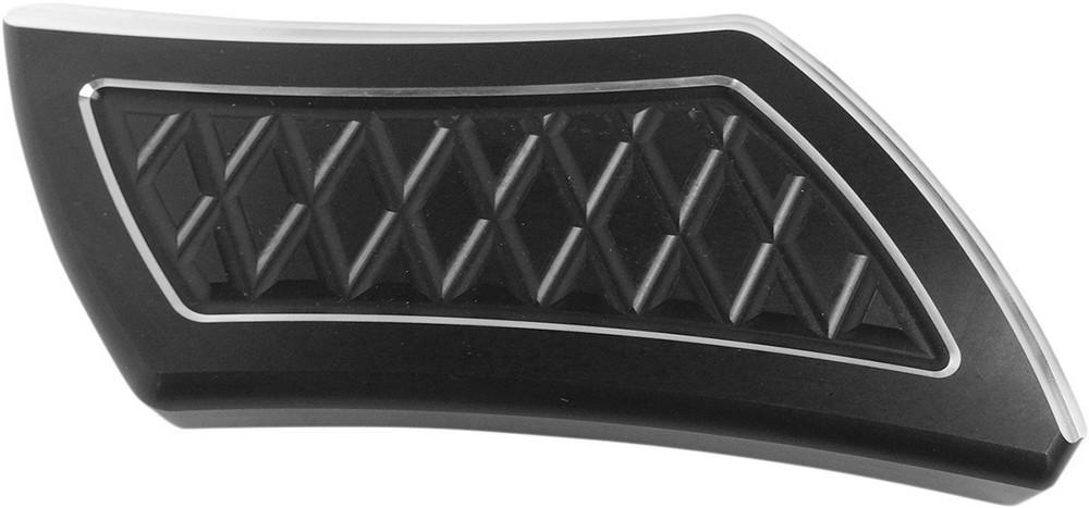 EDDIE TROTTA DESIGNS エディートロッタデザイン ブレーキペダル・シフトペダル ブレーキペダルパッド ブラック FL 2002-2017用 【COVER BRK PEDAL BL 2-17FL [1610-0361]】