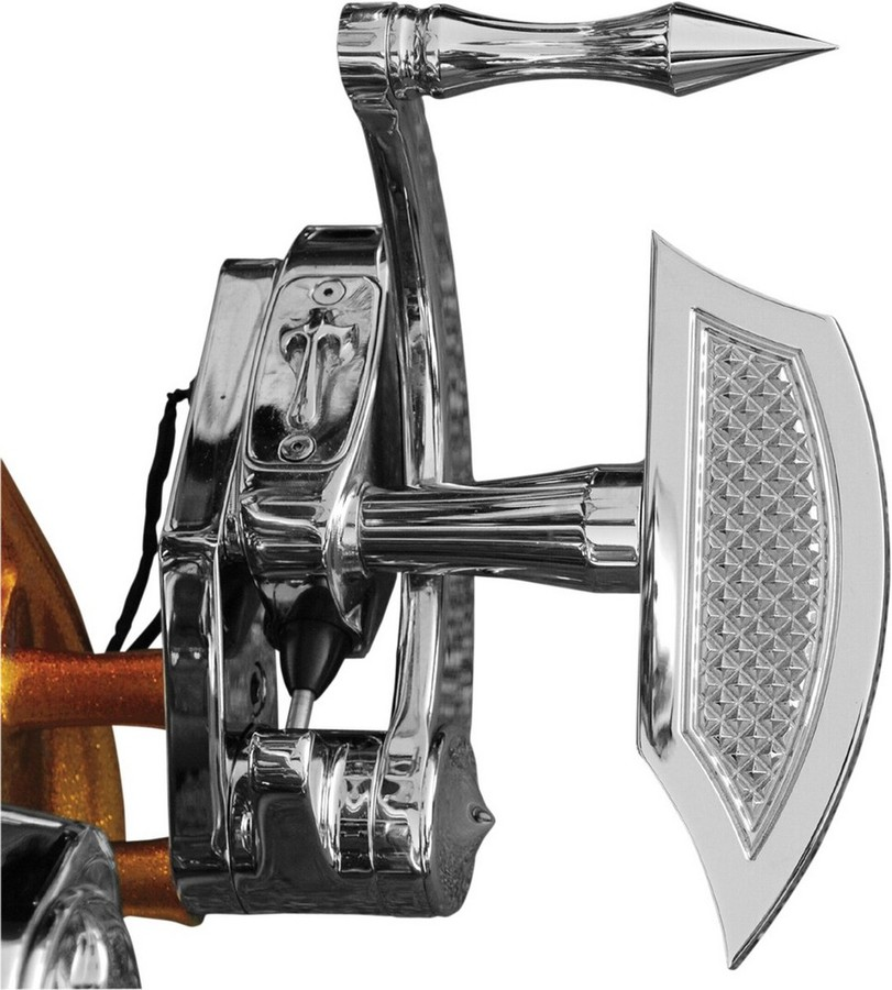 EDDIE TROTTA DESIGNS エディートロッタデザイン フットペグ・ステップ・フロアボード ミニフロアボード クローム 【FLOORBOARDS MINI CHROME [1621-0199]】