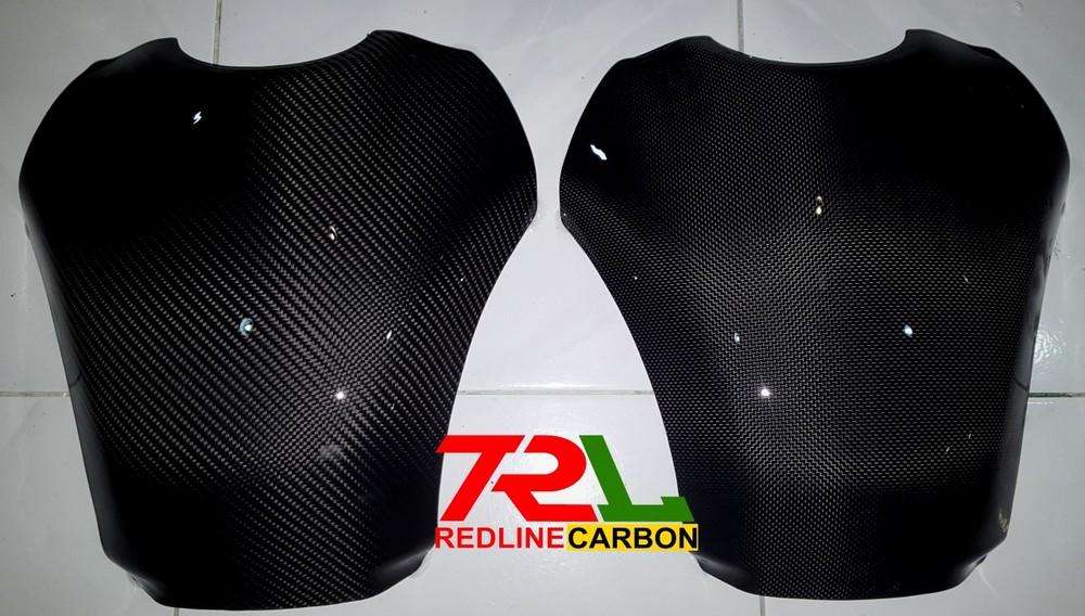TRL Redline Carbon TRLレッドラインカーボン タンクカバー カーボン タンクプロテクター R1 2009-2014