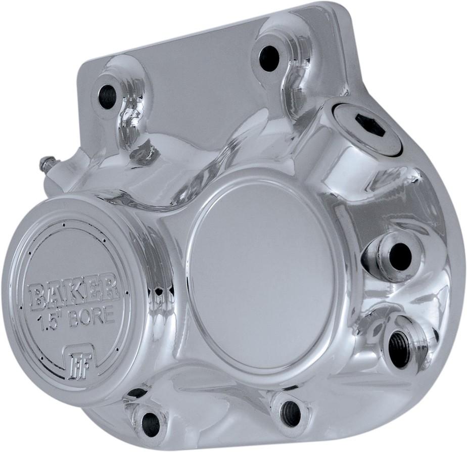 BAKER DRIVETRAIN ベイカードライブトレイン エンジンカバー 油圧カバーサイド フロント 5速 クローム 【COVER SIDE HYD FRT 5SP CH [1107-0178]】