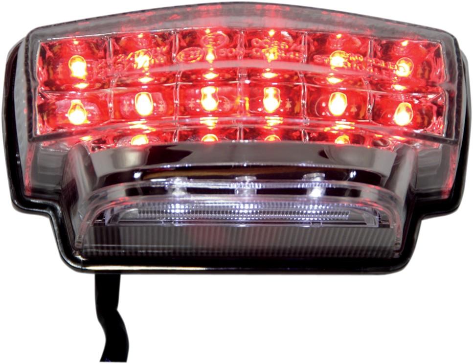 Moto MPH モトエムピーエイチ テールランプ CBR600RR クリアー【TAILLIGHT CBR600RR CLR [2010-0948]】 CBR600RR 2007 - 2012