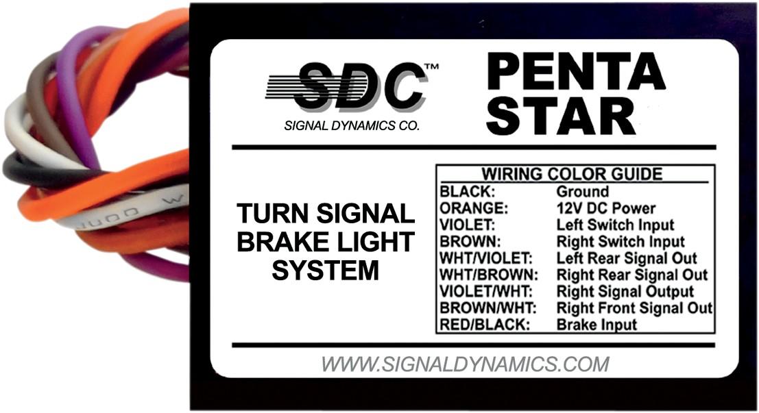 SIGNAL DYNAMICS シグナルダイナミックス ウィンカーブレーキランプ PENTA-STARモデル 【MODULE PENTA-STAR [2050-0137]】