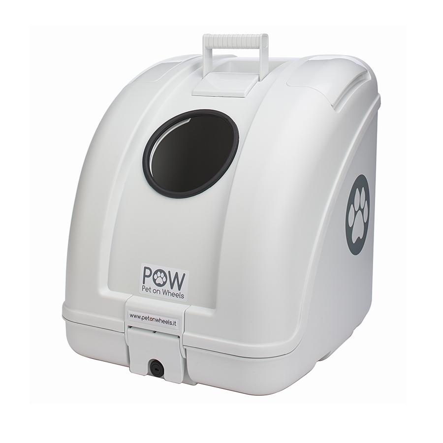 POW(Pet on Wheel) ポウ(ペットオンホイール) その他ケース ペットキャリーボックス 35L ホワイトボディ/ホワイト 汎用