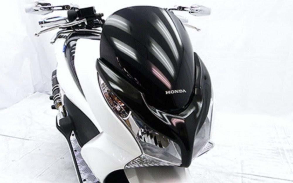 【イベント開催中!】 WirusWin ウイルズウィン スクーター外装 ライトマスク(カーボン仕様) PCX125
