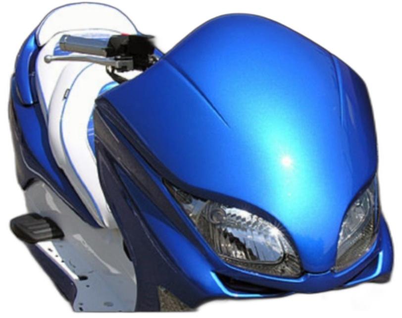 WirusWin ウイルズウィン スクーター外装 フロントマスク 塗装無し フォルツァ(MF08)