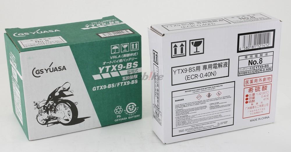 【在庫あり】GS YUASA GSユアサ ジーエスユアサ YTX9-BS オートバイ用 制御弁型(MF)12Vバッテリー