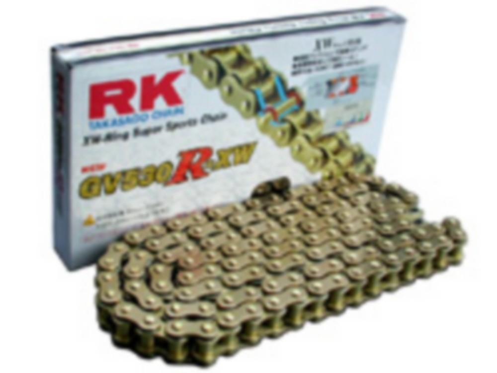 RK アールケー GVシリーズゴールドチェーン GV530R-XW