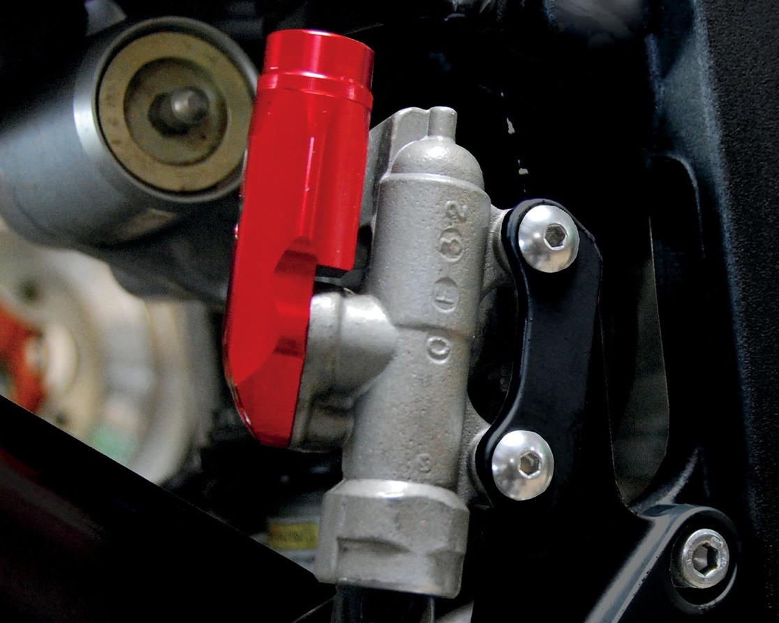 POWERSTANDS RACING パワースタンズレーシング その他ブレーキパーツ REAR BRAKE RESERVOIR RED [1731-0291]
