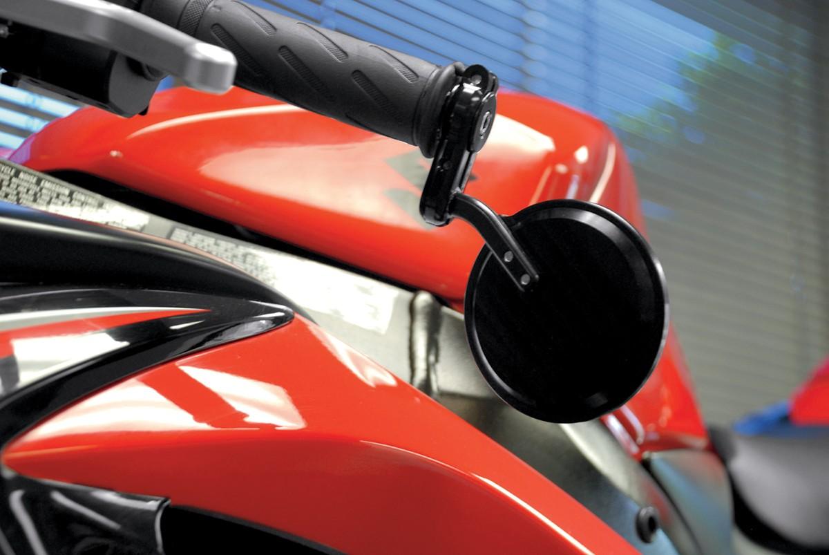 POWERSTANDS RACING パワースタンズレーシング ミラー類 MIRROR BAREND GIORGIO BK [0640-0448]