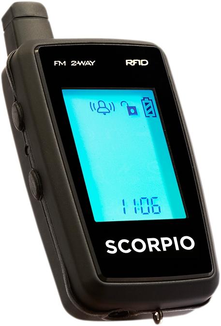 SCORPIO スコーピオ イモビライザー・アラーム セキュリティシステムアラーム RFID SR-i900 【ALARM RFID SR-i900 [4020-0077]】