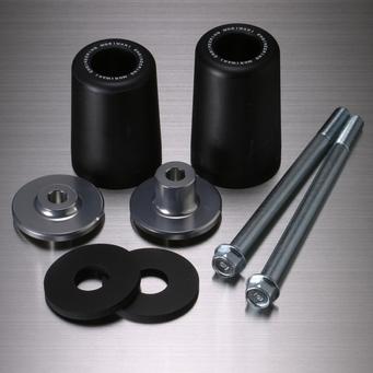MORIWAKI ENGINEERING モリワキエンジニアリング ガード・スライダー スキッドパッド エンジンスライダー カラー:ブラック ホーネット900