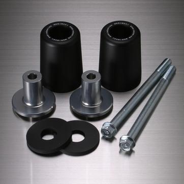 MORIWAKI ENGINEERING モリワキエンジニアリング ガード・スライダー スキッドパッド エンジンスライダー カラー:ブラック XJR400