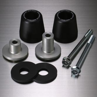 MORIWAKI ENGINEERING モリワキエンジニアリング ガード・スライダー スキッドパッド エンジンスライダー カラー:ブラック GSX-R750