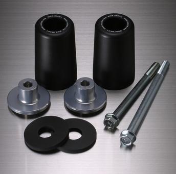 MORIWAKI ENGINEERING モリワキエンジニアリング ガード・スライダー スキッドパッド エンジンスライダー カラー:ブラック SV1000 SV1000S