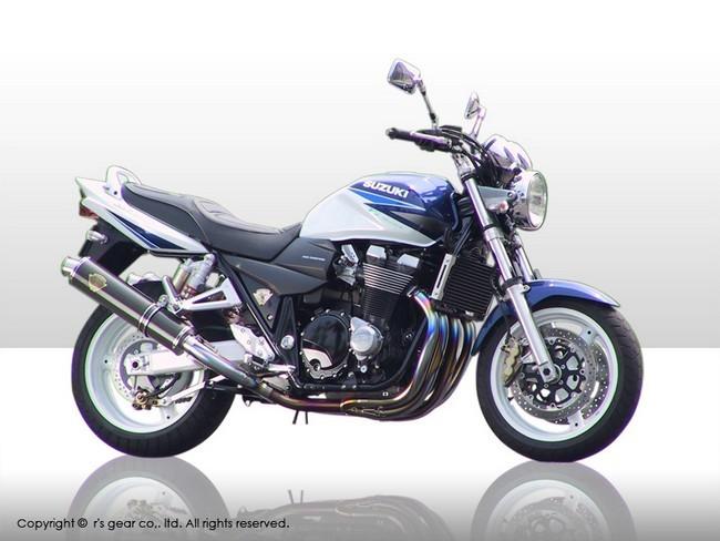 r's gear GSX1400 ソニック アールズギア フルエキゾーストマフラー ソニック ツインタイプマフラー アールズギア カラー:ドラッグブルー GSX1400, ヨイチチョウ:057cd78e --- sunward.msk.ru