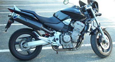 TERMIGNONI テルミニョーニ スリップオンマフラー 1サイレンサー カーボンヒートガード付属 ホーネット900