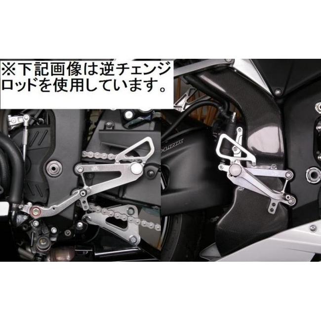 TSR テクニカルスポーツレーシング 4ポジションステップキット CBR600RR
