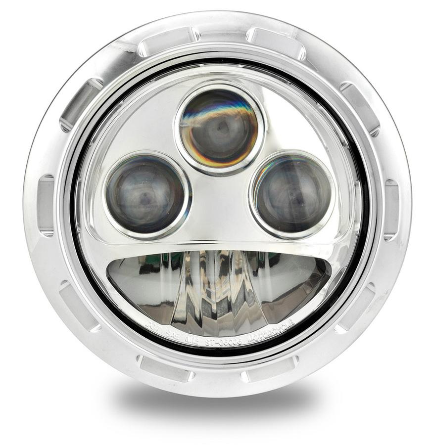 PerformanceMachine パフォーマンスマシン ヘッドライト本体・ライトリム/ケース APEX LED ヘッドライト 仕上げ:クロム