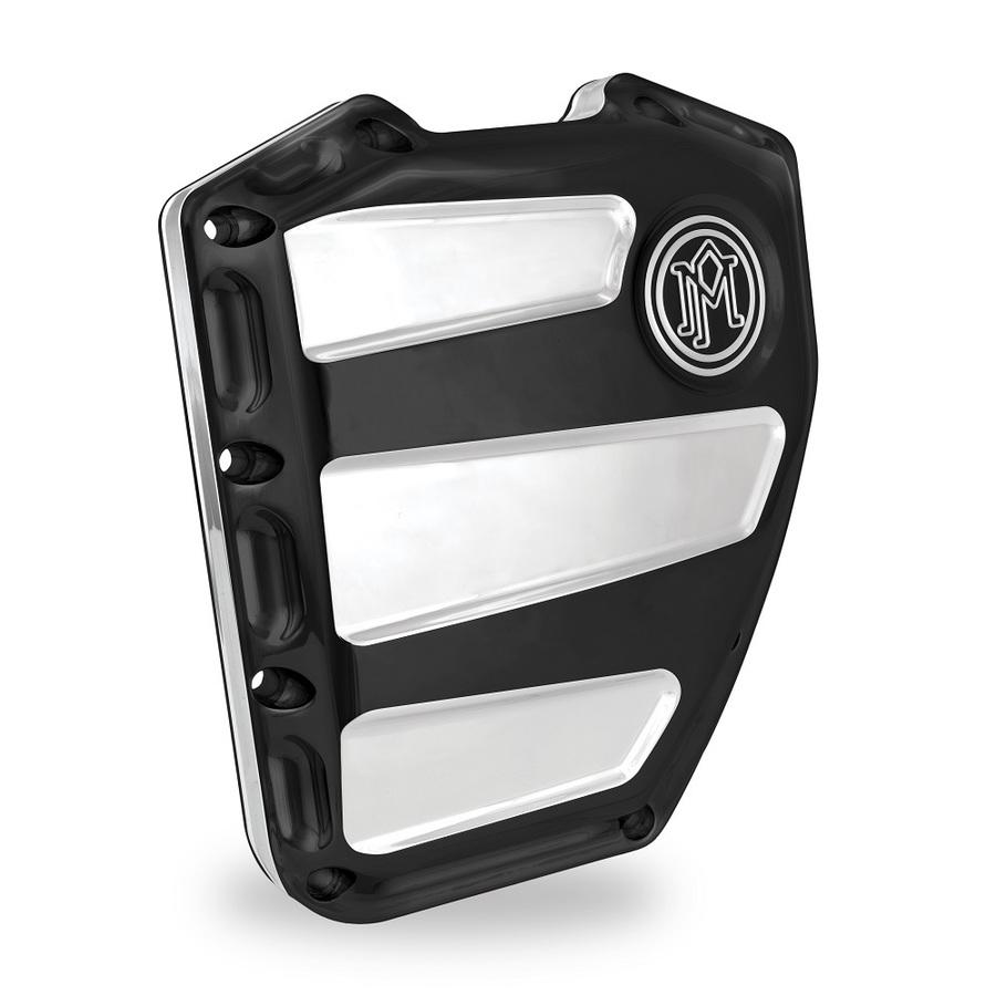 PerformanceMachine パフォーマンスマシン エンジンカバー SCALLOP クラッチカバー 仕上げ:プラチナカット Twin Cam 01-