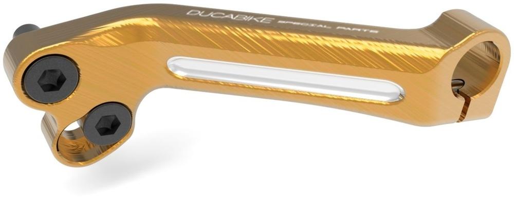 【イベント開催中!】 DUCABIKE ドゥカバイク ブレーキペダル・シフトペダル アルミビレット・バランサーシフトペダルレバー カラー:ゴールド XDIAVEL